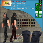 NUTS Inc - Keith Leather Pants  - Wear/Add me