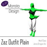 Zaz Outfit - Plain [JOMO Female Dragon]