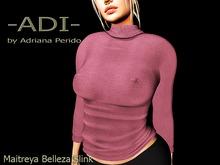 Weekend Promo 50L -ADI-Ami Wool Sweater Pink Maitreya Belleza Slink