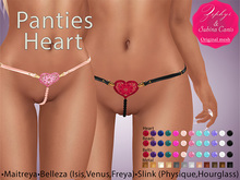 """Zephyr"" Panties Heart"