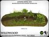 Heart   wildwood enchanted flowering path with lanterns   ref5