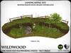 Heart   wildwood enchanted flowering path with lanterns   ref6