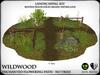 Heart   wildwood enchanted flowering path with lanterns   ref8