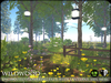 Heart   wildwood enchanted flowering path with lanterns   a2