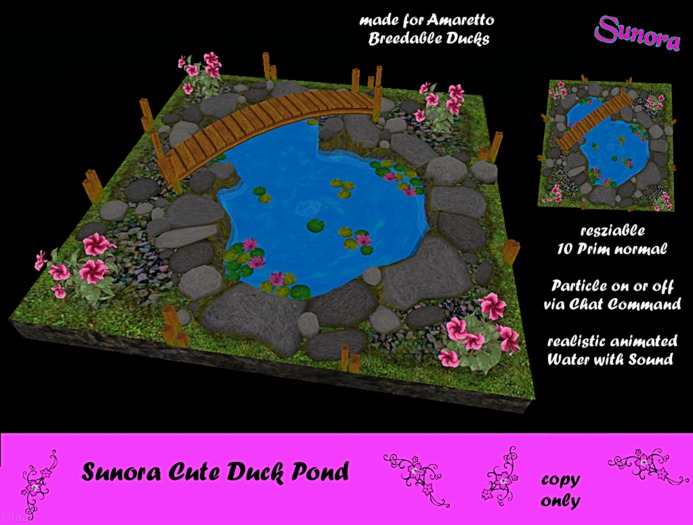 Sunora Cute Duck Pond