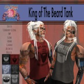 ::AMF:: King Of The Beard Tank- Add to Unpack