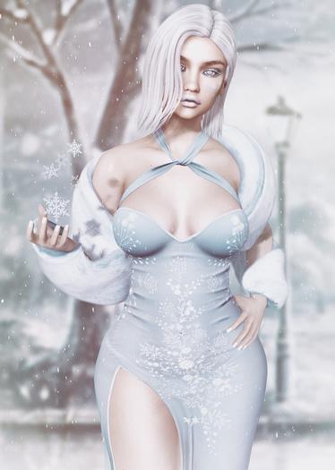 *!R.O!* Polar BENTO Pose w/ Mesh Snow