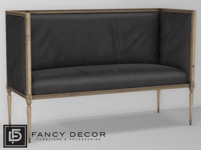 Fancy Decor: Rameau High-Back Settee