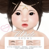 MICHAN - Miele Brows [Toddleedoo]