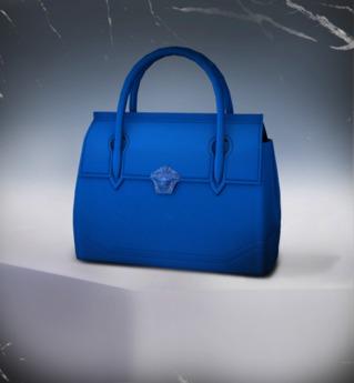 !79! Blue Medusa Bag