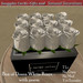 Box of Dozen White Roses - with poem