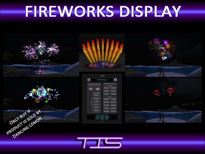 TIS Fireworks Display