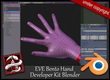 EVE Developer Kit Bento hand Blender