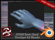 ADAM Developer Kit Bento hand Blender
