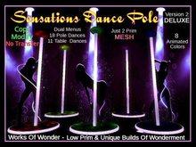 Sensations Dance Pole -Mesh- (Deluxe Edition)