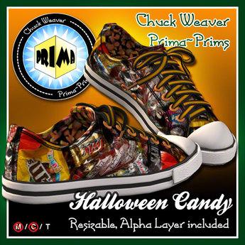 R(S)W Chucks - Halloween Candy