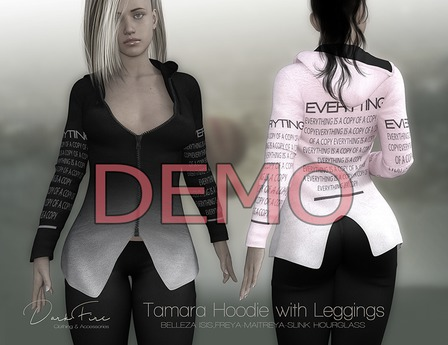 DarkFireTamara Hoodie with Leggings-DEMO