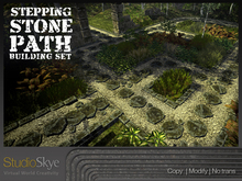 Skye Stepping Stone Path Building Set