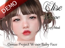 "Elise Shape ""Genus Project Head W001 Baby Face"" Demo"