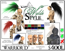 - Warrior'd - A Wylde Style by Khyle Sion at ~Refined Wild~