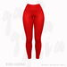 Gaia - Kiera Leggings RED