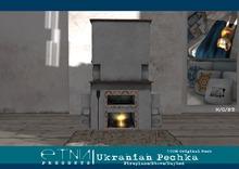 [ETNIA]  Ukranian Pechka - fireplace.\/stove/daybed