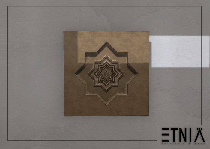 [ETNIA] Dream Morocco - Bronze Wall Art
