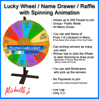 Lucky Wheel - Random Name Drawer (Raffle)