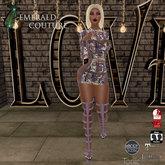 EC Must Be Love Dress Mauve