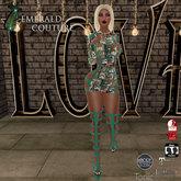 EC Must Be Love Dress Green