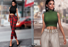 OSMIA - Erika.Crop Sweater - FullPack