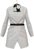 OSMIA - Rene.Blazer Dress - White