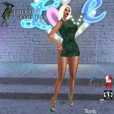 EC Flora Dress Teal