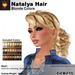 A&A Natalya Hair Blonde Colors V2, lush curly mesh ponytail style