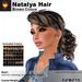 A&A Natalya Hair Brown Colors V2, lush curly mesh ponytail style
