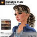 A&A Natalya Hair Ombre Colors V2, lush curly mesh ponytail style