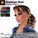 A&A Natalya Hair Summer Colors V2, lush curly mesh ponytail style