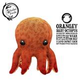 Schadenfreude Orangey Baby Octopus