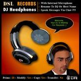 DSL DJ Headphones