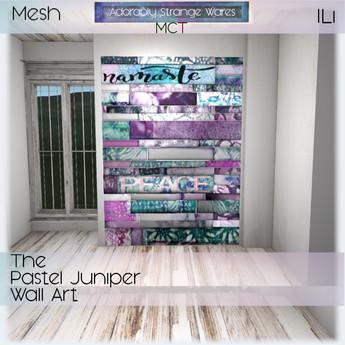 ~ASW~ The Pastel Juniper Wall Art