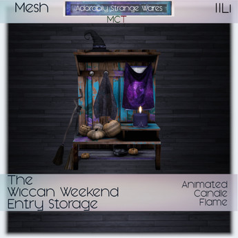 ~ASW~ The Wiccan Weekend Entry Storage