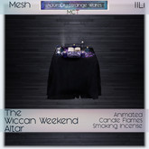 ~ASW~ The Wiccan Weekend Altar