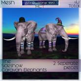 ~ASW~ The Sideshow Caravan Elephants