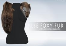 iS False Foxy Fur BROWN