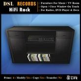 DSL HiFi Rack Black