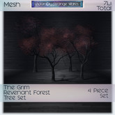 ~ASW~ The Grim Revenant Forest Trees