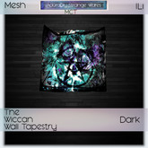 ~ASW~ The Wiccan Wall Tapestry Dark