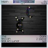 ~ASW~ The Wiccan Wall Art Lunar Dark
