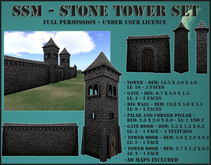 SSM - Stone Tower Set