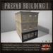 Mesh Prefab Building Victorian Store / Shop